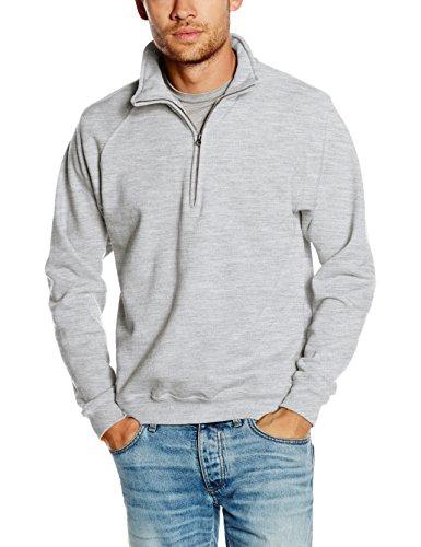 fruit-of-the-loom-herren-sweatshirt-ss108m-grau-heather-grey-xxl