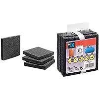 Almohadillas anti-vibración 10x75x75 mm Inofix