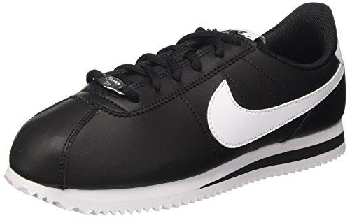 Nike Schwarz Cortez (Nike Unisex-Kinder Cortez Basic SL (GS) Sneaker, Schwarz (Black/White), 38 EU)