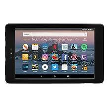 Nupro shock-proof case for Fire HD 8 tablet, black
