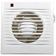 """Ventilador de extracción Silencioso extractor de aire para pared de cocina cuarto de baño aseo de casa 4/6inch 2–16& # x33A1; 4"""""""