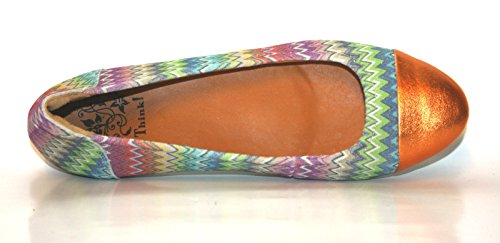 Think Balla 82162 Damen Ballerinas Gold (multicolour 99)