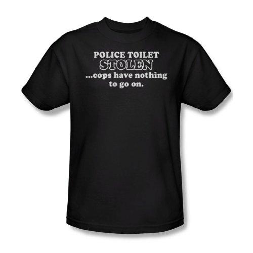 Polizei WC Stolen - Männer T-Shirt in schwarz, XX-Large, Black (Bristol Wc)