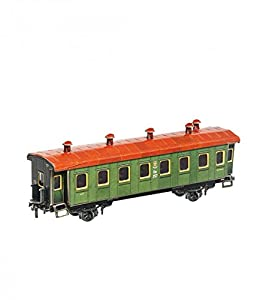 Keranova keranova2871: 87Escala 19,5x 4x 5,5cm, Clever Papel Tren de pasajeros de Coche 3D Puzzle