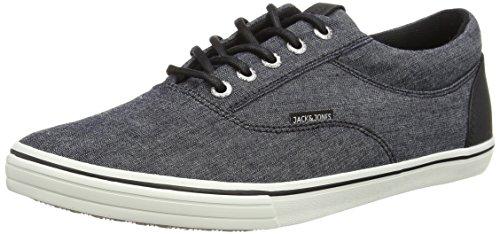 Jack & Jones Jjvision Full Chambray Low Sneaker, Baskets Basses homme Bleu - Blau (Chambray Blue)