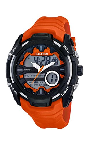 Price comparison product image Calypso watches Gents Watch XL Analogue-Digital-Analogue Digital Display and Plastic K5658 / 3