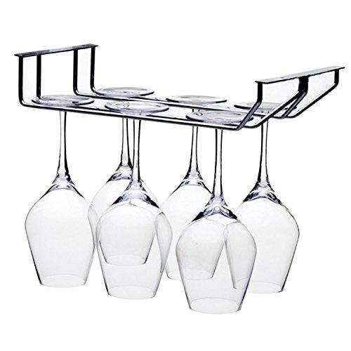 Bar Rot Wein Glas Aufhänger Halter hängen Rack Regal für 6Weingläser (Aufhänger Wein Glas)
