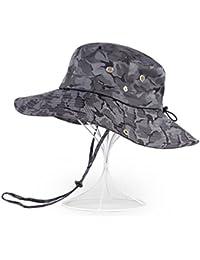 dc1269d422fcf Sunny Sombrero para El Sol Temporada De Verano Hombre Poliéster Aire Libre  Protección Solar Sombrero (