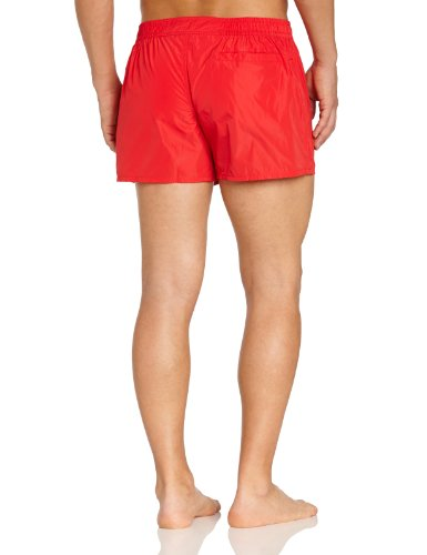 HOM Herren Badeshorts Marine Chic Bond Shorts Rot (RED - LIGHT COMBINATION M005)