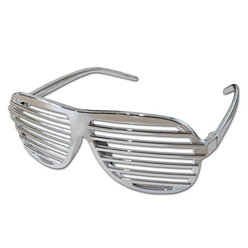 Komonee Chrom Verschluss Schattierungen Spaß Neuheit Kunststoff Party Sonnenbrille