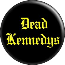 """Dead Kennedys - Yellow on Black - 1.25"""" Round Button"""