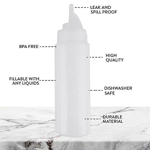 Bottiglie di plastica squirt