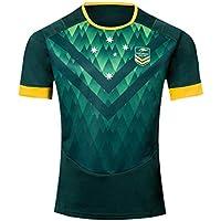 CBsports Team Australia, Rugby Jersey,19, Nueva Tela Bordada, Swag Sportswear (Verde, S)
