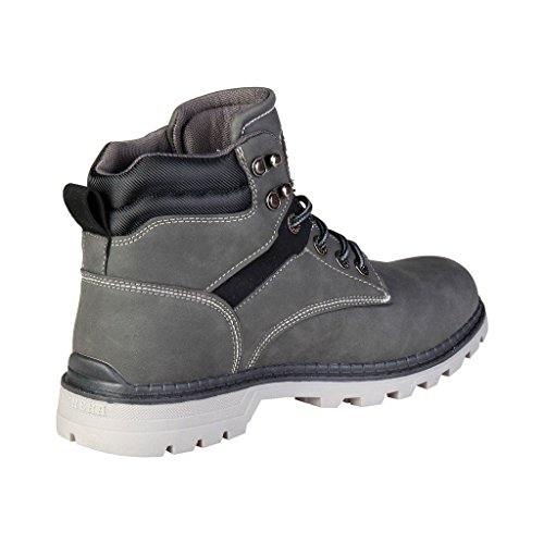 Carrera Jeans Nebraska_cam721025 Bottines Grises Pour Hommes