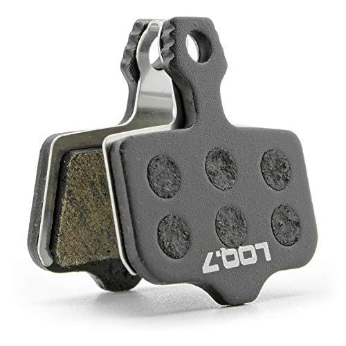 LOQ.7 Fahrrad Scheibenbremsbeläge semi metallisch für Avid Elixir, Sram Level, Trickstuff The Cleg -
