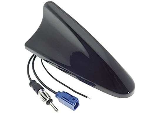 Shark antenne AM/FM/GPS Fakra DIN Antenne de toit Sharkfin requin
