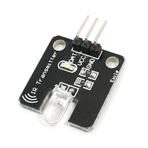 sourcingmap® Elettronico Mattoni Sensore A Infrarossi trasmettitore IR Modulo DC 5V