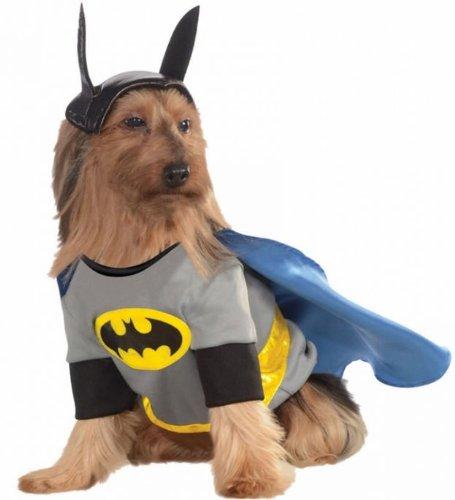 Unbekannt Kostüme für Alle Anlässe ru887835X L Pet Kostüm Batman - Alle Batman Kostüm