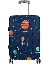 Preisvergleich für COOSUN Educational Sonnensystem Orbits und Planeten-Druck-Reise-Gepäck Schutzabdeckungen Waschbar Spandex Gepäck...