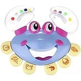 Baby toy, Kolylong® Kids Baby Crab Design Handbell Musical Instrument Jingle Rattle Toy (Blue)