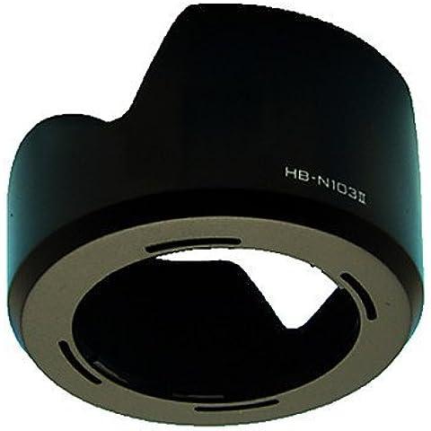 HB-N103 II Parasol para Nikon VR 1 NIKKOR 10-30mm f/3.5-5.6