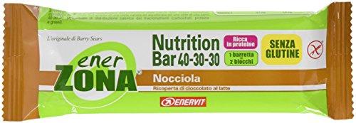 Riegel Barretta Nutrition Bar Nocciola Enerzona 1 Baretta -