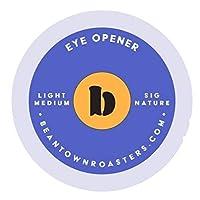 Eye Opener , 50 Count : 50 Count Eye Opener Coffee Beantown Roasters, Single-serve Coffee for Keurig K-cup Brewers