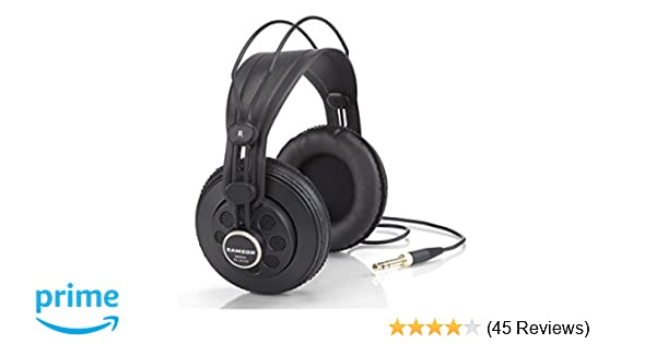 4b3866c2e09 Samson SR850 Studio Headphones, Single: Amazon.in: Musical Instruments
