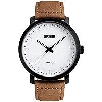 bozlun quarzo Casual Watch 1196Fashion Business vestito cinturino in pelle analogico orologi impermeabile