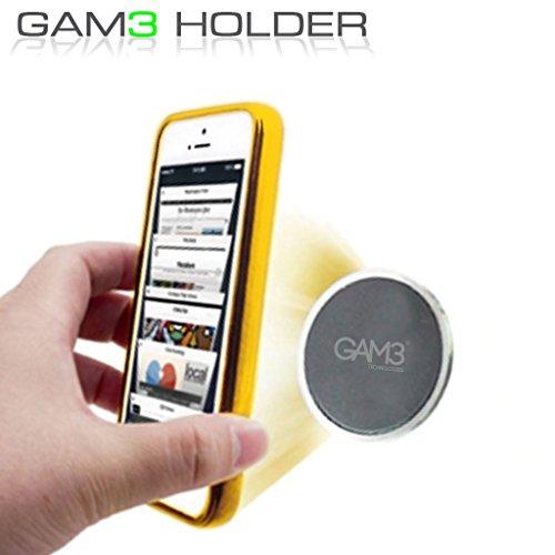 GAM3 Supporto Magnetico Auto Universale / Supporto Auto Smartphone Porta Telefono per iPhone 7/ 6/ 6s/ 5s/ 5c/ 5/ sony xperia / samsung galaxy s6 / Huawei / Xiaomi / One Plus ecc.
