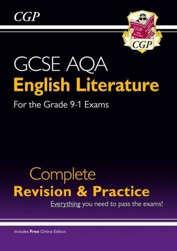New GCSE English Literature AQA Complete Revision & Practice - Grade 9-1 (with Online Edition)