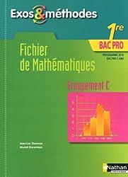 Fichier de Mathématiques - 1re Bac Pro