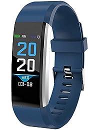 OPAKY Fitness Tracker Pantalla a Color Monitor de Ritmo Cardíaco Presión Arterial Pulsera Inteligente Relojes Deportivos
