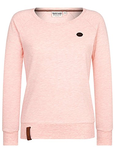 Naketano Female Sweatshirt Krokettenhorst burning melange