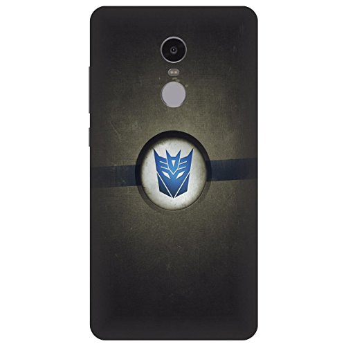 Xiaomi Mi Redmi Note 4 Transformers Logo Printed Hard Polycarbonate Designer Back Case Cover by Mobi Elite