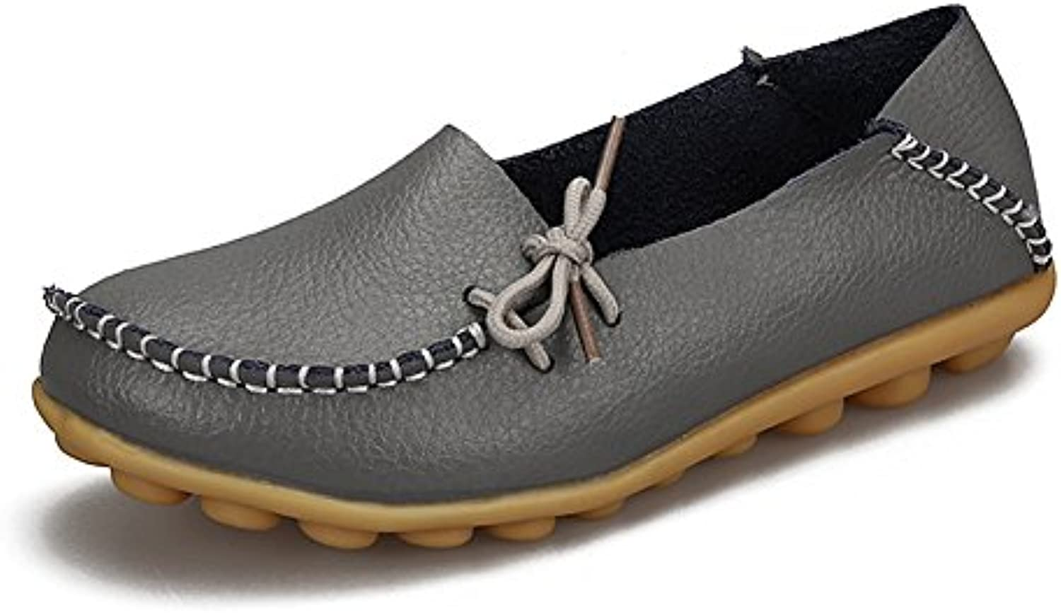 JoansamLoafer Flat - Sandalias Mujer, Color Gris, Talla 36