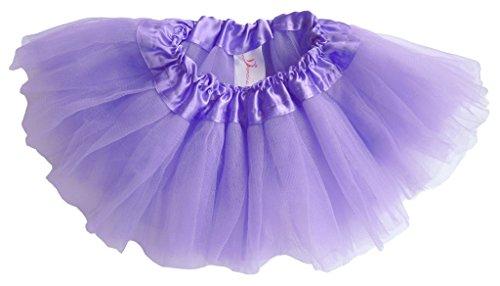 Dancina Baby Tüllrock Tutu Ballettrock Classic Lila 6-24 Monate