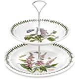 Portmeirion Botanic Garden 2 Tier Cake Stand 8in By 10in
