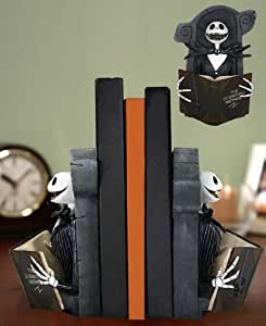 Nightmare Before Christmas - Reading Jack Resin Bookends