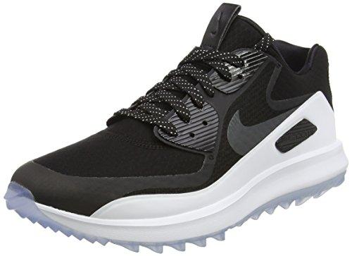Nike Air Zoom 90 It, Chaussures de Golf Homme, Noir (Black / Anthracite-Blanc-Volt), 43 EU