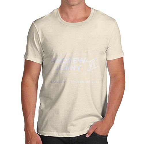 TWISTED ENVY  Herren T-Shirt Natur