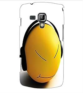 ColourCraft Cartoon Design Back Case Cover for SAMSUNG GALAXY S DUOS 2 S7582