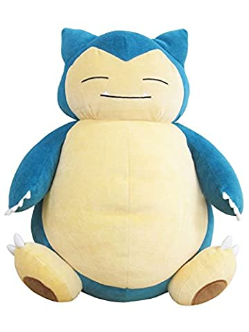 Sanei Pokémon All Star Collection Pz04Ronflex/Kabigon Peluche rembourrée, 38,1cm