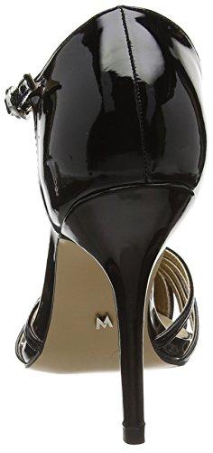 MM 66082-Sandali Donna Nero (Charol negro)