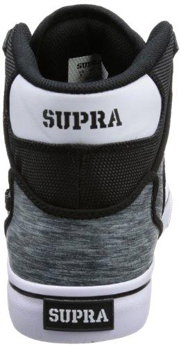 Supra VAIDER S28207 Herren Sneaker Schwarz (BLACK / GREY - WHITE BSG)