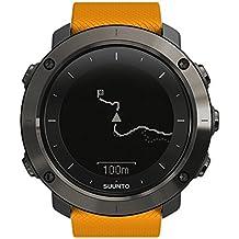 Suunto Traverse - SS021844000 - Reloj GPS Outdoor para excursionismo y senderismo - Sumergible - Ámbar - Talla única
