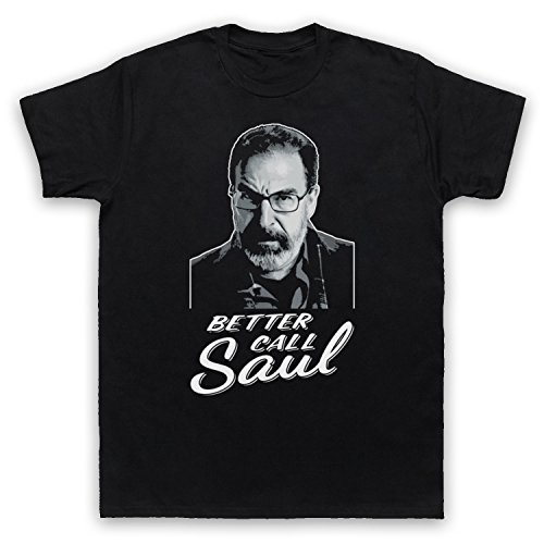 Inspiriert durch Homeland Better Call Saul Inoffiziell Herren T-Shirt Schwarz
