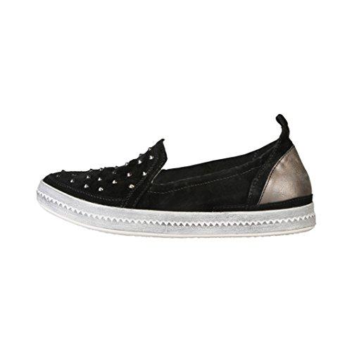 Geox - Baskets pour femme (D3429C_00022_C9999_BLACK) - Noir Noir
