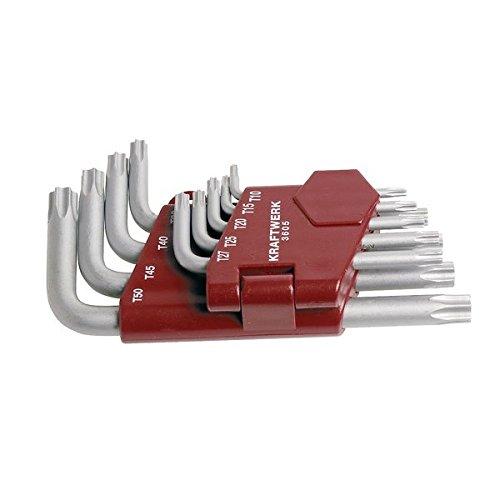 Kraftwerk 3605 9-teilig TX-Stiftschlüsselsatz