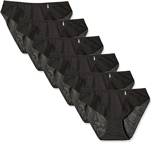 AVET Pack x 6 Braguitas Negro L